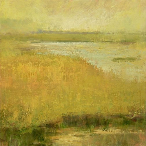 Yellow Marsh 40x40