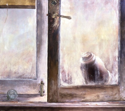 Open Window and Urn 36x42