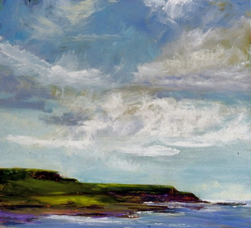 View to Kilkee 42x46