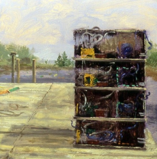 Lobster Traps 16x16